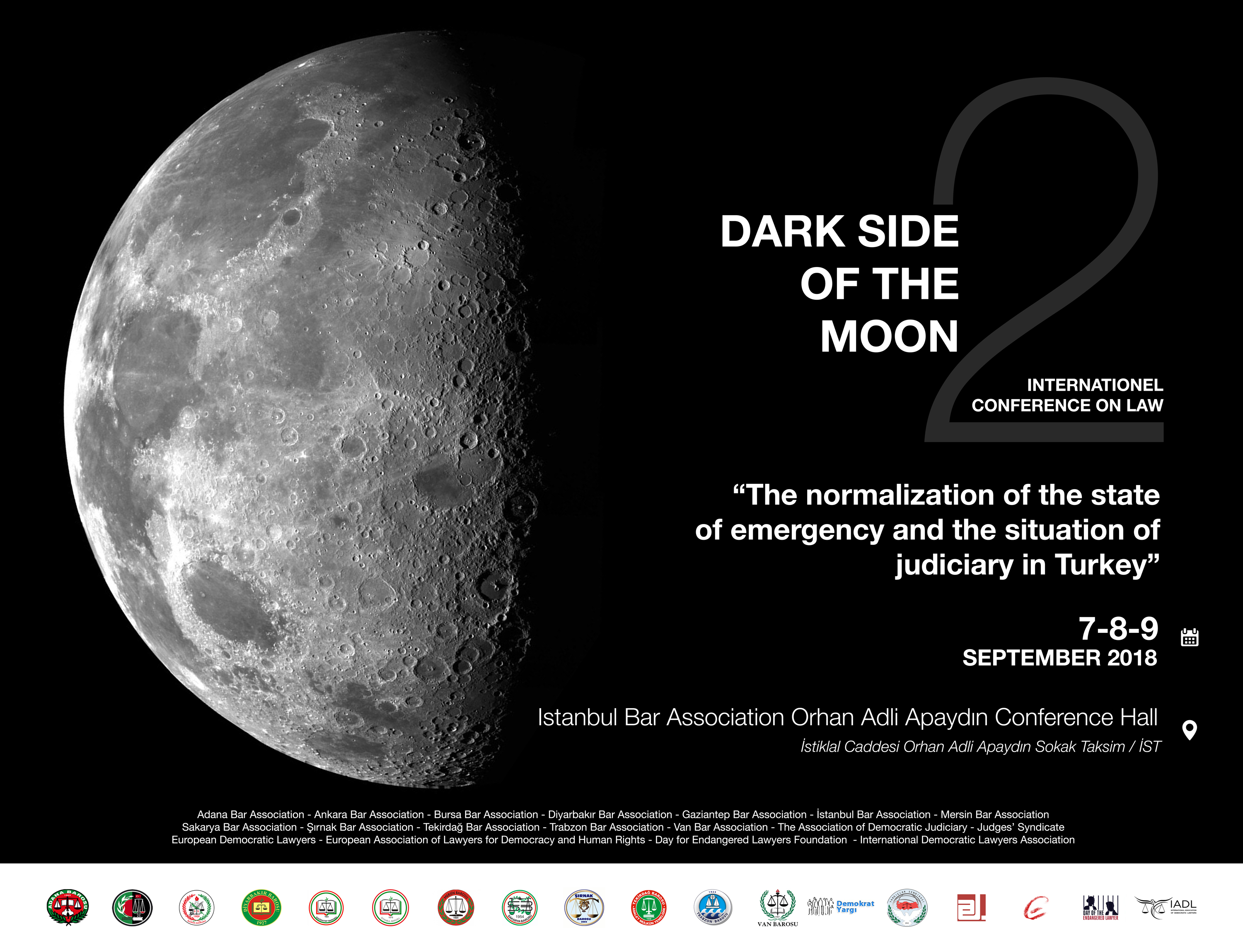 5d5d818ddd181f 7-9 September, Istanbul: DARK SIDE OF THE MOON 2 – The normalization ...