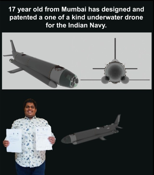 Meet Arjun Menon: A 17 Year Young Who Patented An Underwater Drone