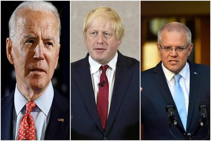 Aukus: UK, US and Australia launch pact to counter China