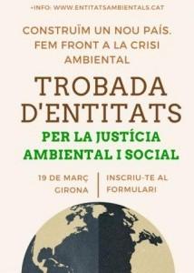 jornada justícia ambiental IAEDEN entitats ecologistes