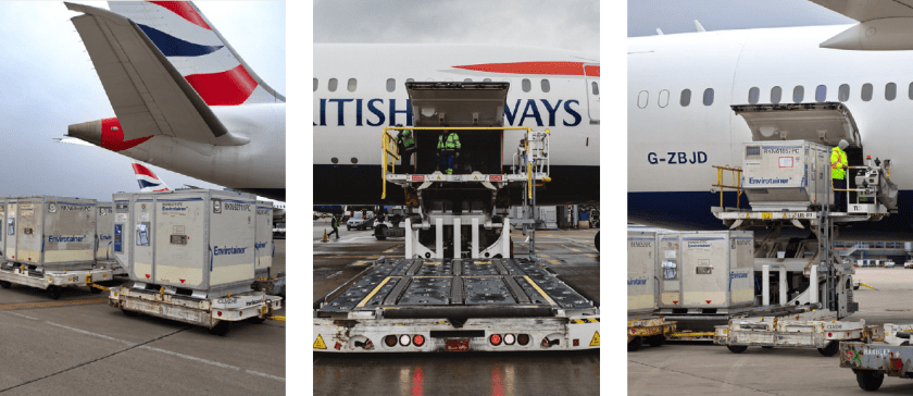 A journey into the cold chain, IAG Cargo