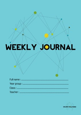Golden Solution: Weekly Journal (Front)