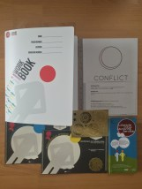 Ring-binder, workbook content, Certificates, stickers and leaflets