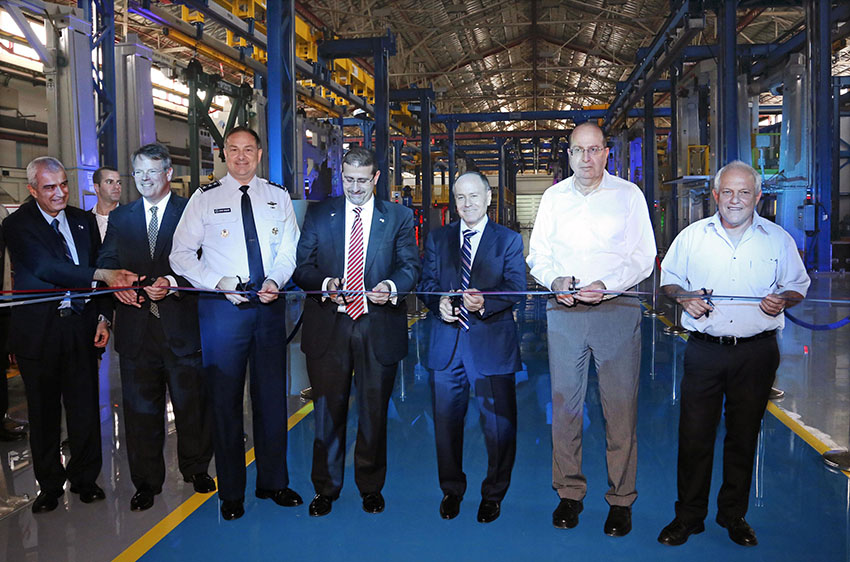 IAI Begins Serial Production of the F-35 Fighter Wings