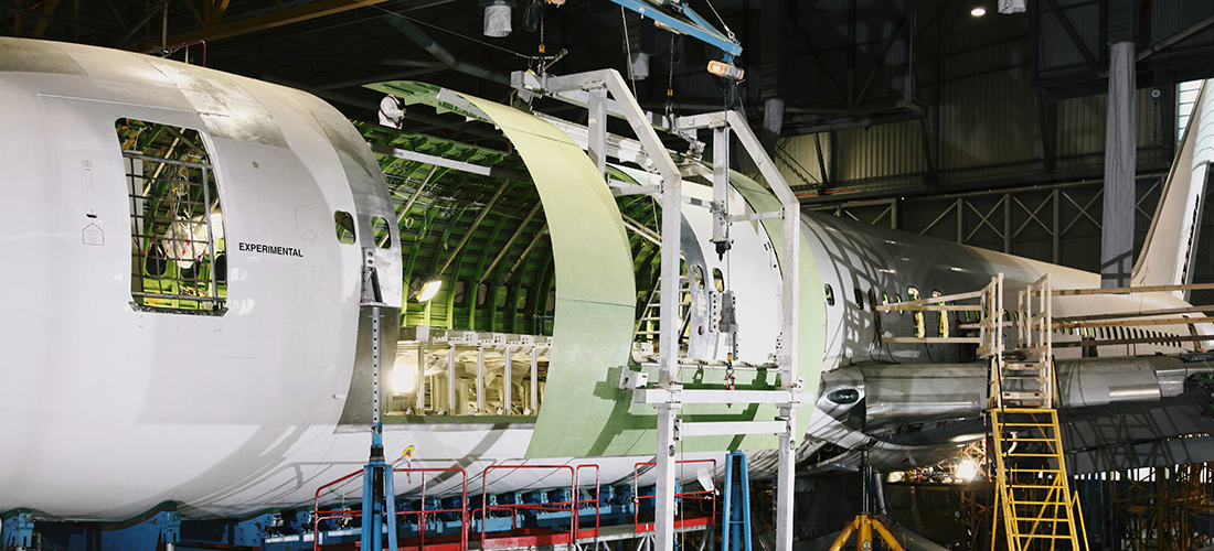 IAI Converts Boeing 737-700 BDSF From Passenger To Freighter
