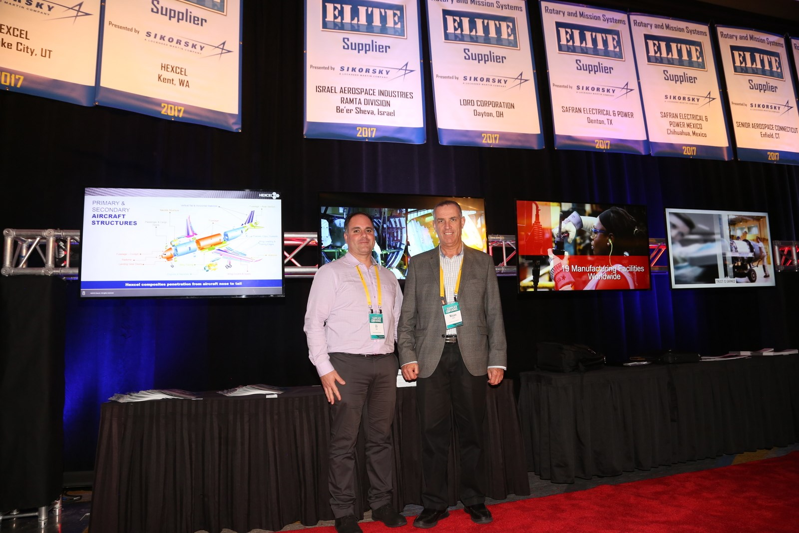 "Sikorsky Names IAI's RAMTA Division ""ELITE SUPPLIER"""