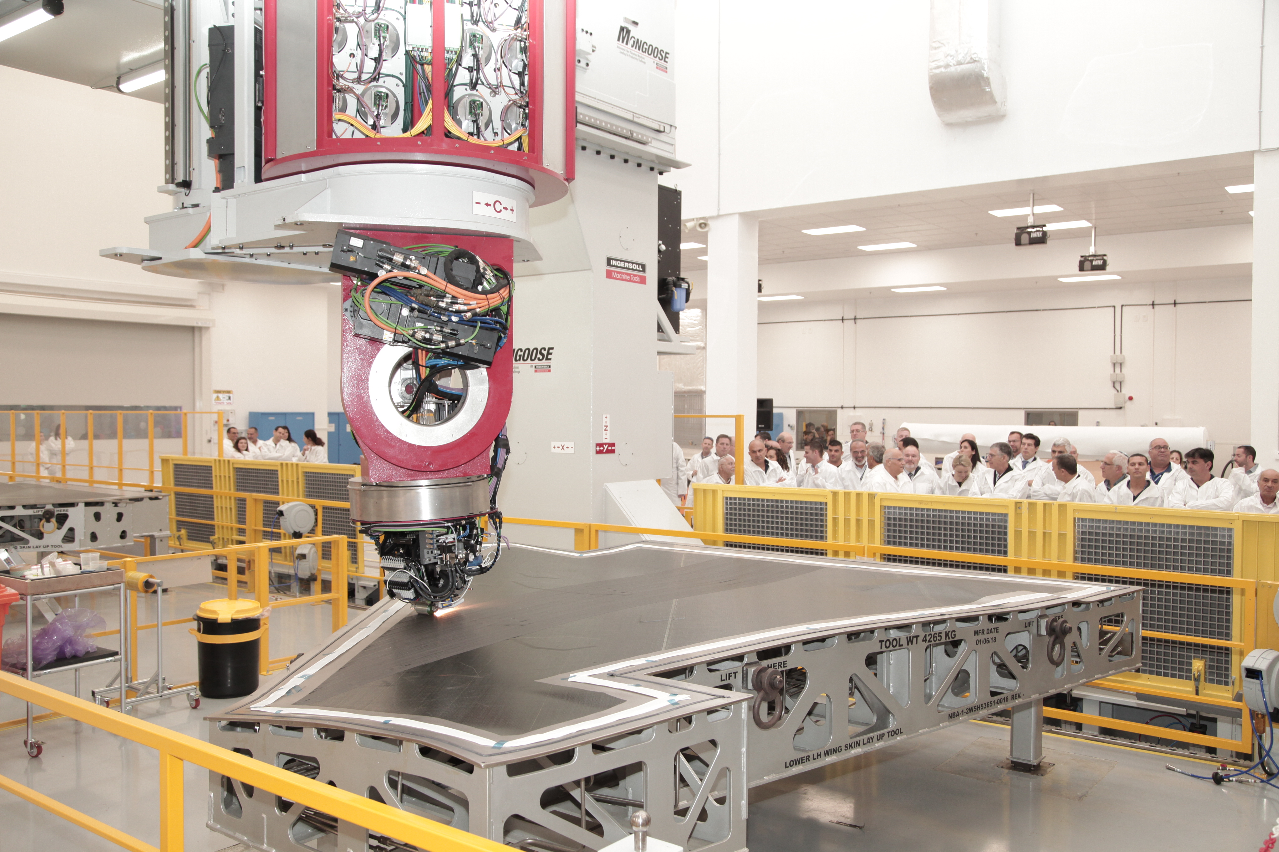 IAI Inaugurates New Line for F-35 Wing Skins 1