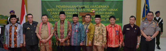 Bersama Menteri Agama