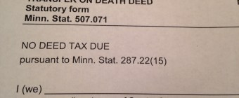 Forms for a Transfer on Death Deed