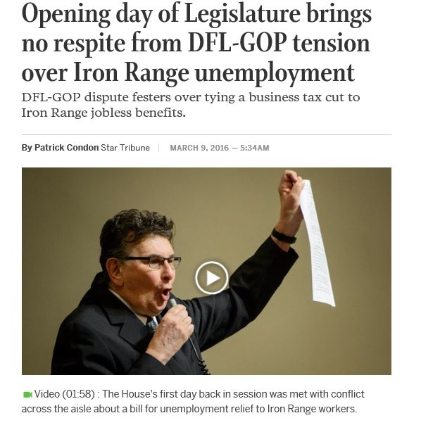 Iron Range Unemployment