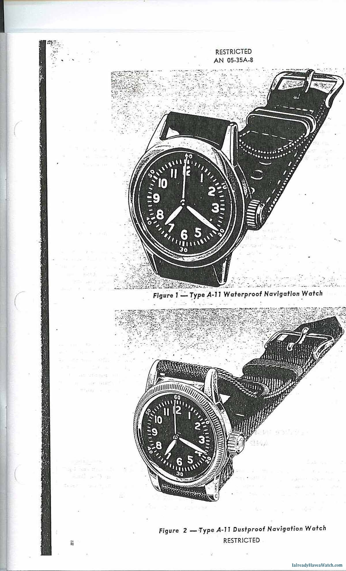 The Wristwatch Which Won World War Ii The A 11 An