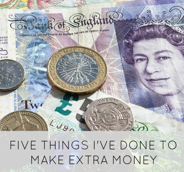 five things I've done to make extra money