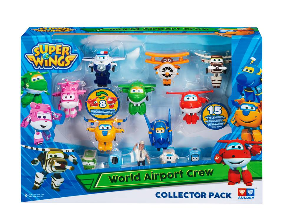 Win with Superwings Toys