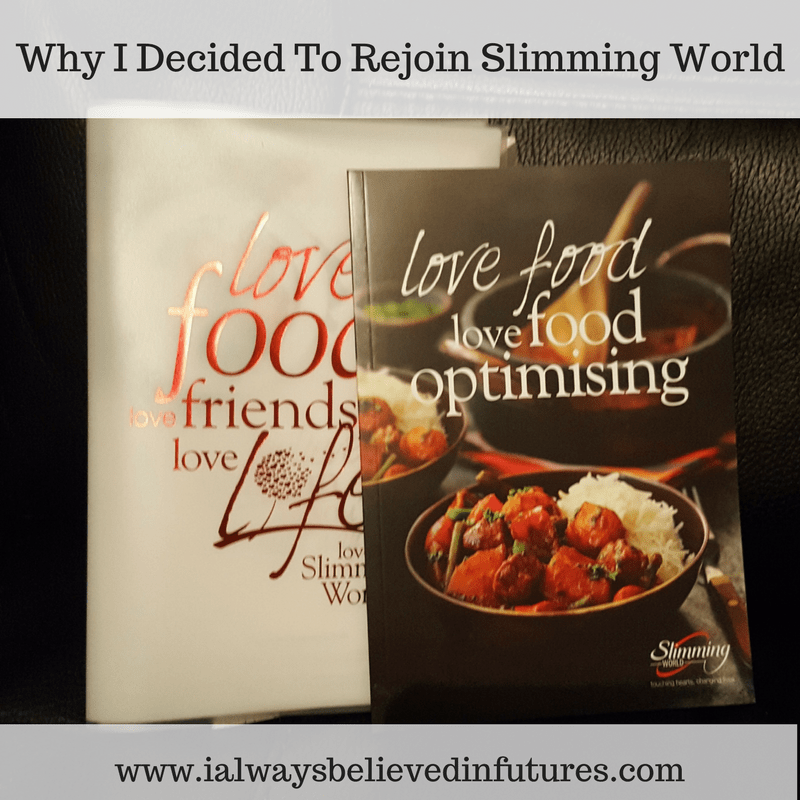 Why I Decided To Rejoin Slimming World