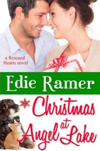 Christmas at Angel Lake (Rescued Hearts #2) by Edie Ramer  with giveaway!
