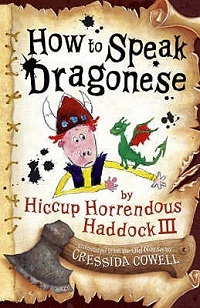 AudioBook Review How to Speak Dragonese: How to Train Your Dragon #3 by Cressida Cowell