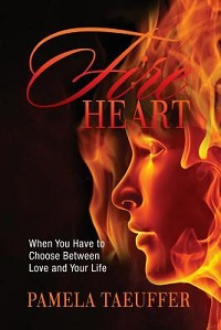 Fire Heart: Broken Bottle #2 by Pamela Taeuffer