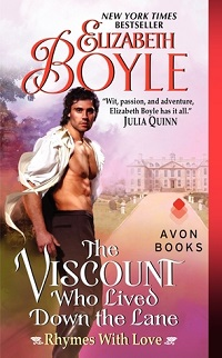 The Viscount Who Lived Down the Lane: Rhymes With Love #4 by Elizabeth Boyle with Excerpt and Giveaway