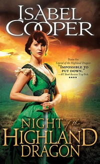 Night of the Highland Dragon: Highland Dragons #3 by Isabel Cooper with Excerpt and Giveaway