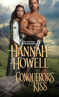 Conqueror's Kiss by Hannah Howell with Excerpt and Giveaway