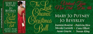 The Last Chance Christmas Ball by Mary Jo Putney, Jo Beverly, Joanna Bourne, Patricia Rice, Nicola Cornick, Cara Elliot, Anne Grace & Susan King with Excerpt and Giveaway