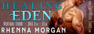 Healing Eden: Eden #2 by Rhenna Morgan with Excerpt and Giveaway