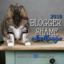 Blogger Shame Review Challenge for 2018