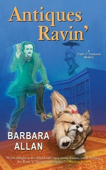 Antiques Ravin': A Trash 'n' Treasures Mystery #13 by Barbara Allan