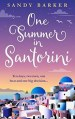 One Summer in Santorini by Sandy Barker