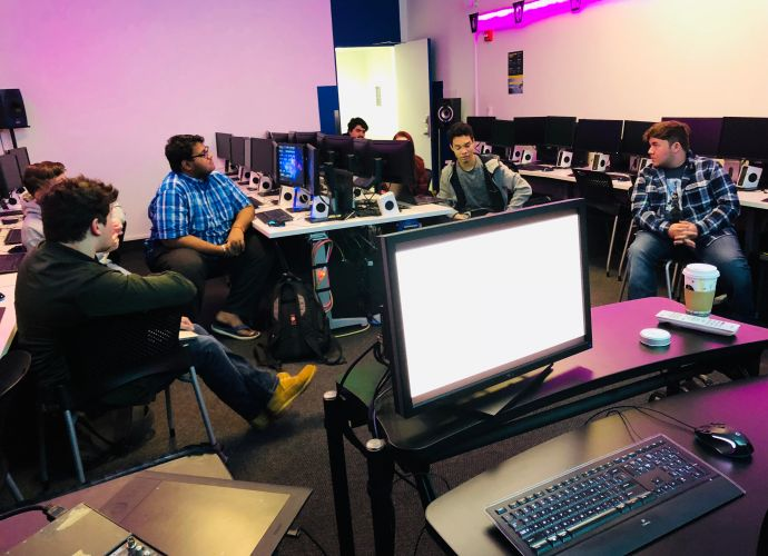 Student organization meeting (Hackerjacks - programming)