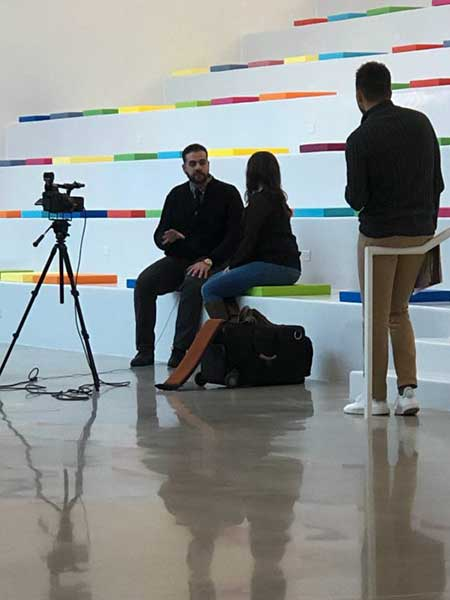 IAM Faculty member Alex Damarjian interviewed by NBC about PDI serious game