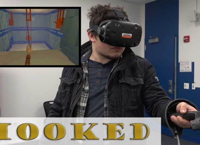 Hooked VR Game by IAM students