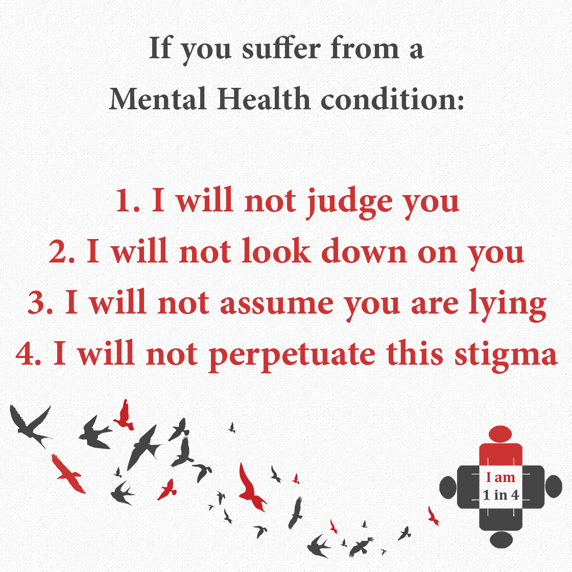 Mental Health Stigma? Let's do NOTHING