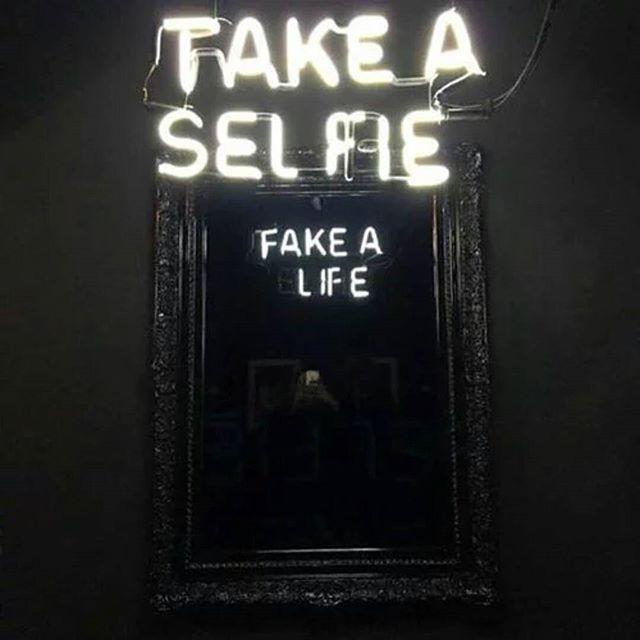 Take a Selfie, Fake a Life