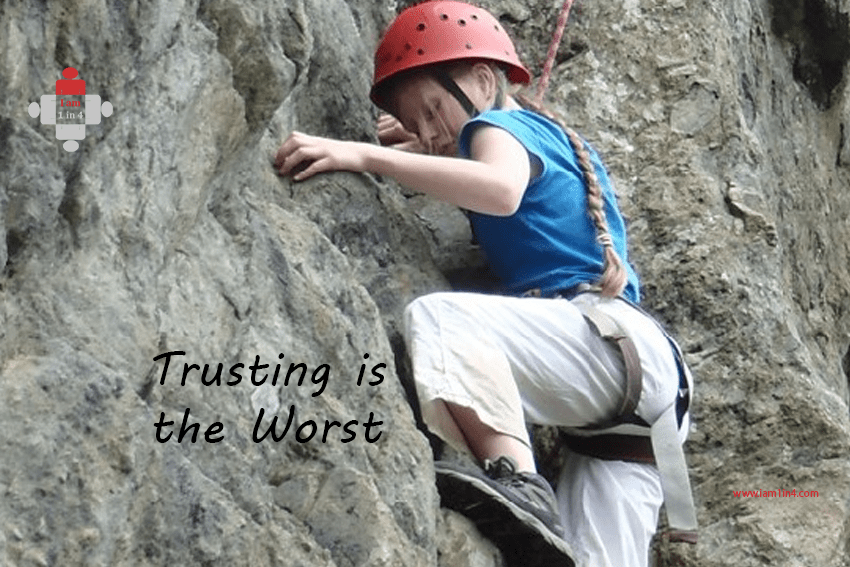 Trusting is the Worst