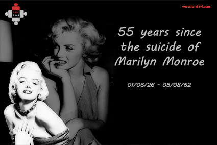 55 years since the suicide of Marilyn Monroe