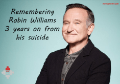 Remembering Robin Williams 3 years on from his suicide