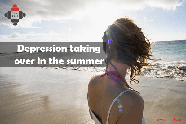 Depression taking over in the summer
