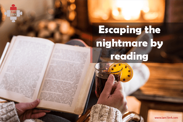 Escaping the nightmare by reading