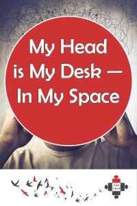 In my space I can be Sara-Jane and express my creativity. I need my space to recharge, to be me. But It cannot all be in order. And why should it?