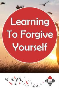 Learning To Forgive Myself. Forgive yourself and not them, is what we all deserve to hear. I don't need to forgive my abusers. I forgive myself and I'm no longer ashamed. I'm proud.