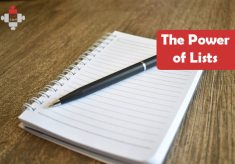 The Power of Lists – Finding my Better Future
