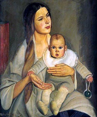 Portrait de la belle-fille de Maxim Gorki