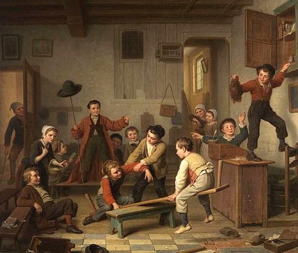 Basile De Loose 1809 1885 Belgian I AM A CHILD