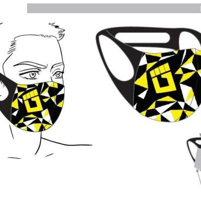 ULTRA YELLOW (Kids & Adults) Mask with Filter