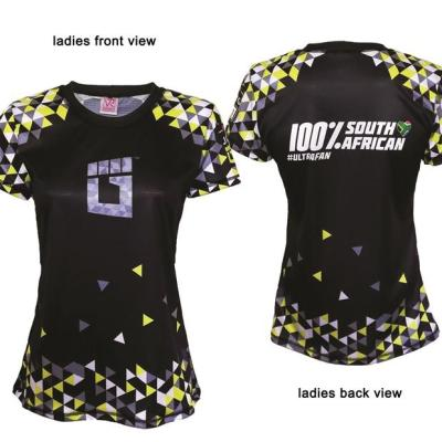 Ladies BLACK Ultra Race T-Shirt