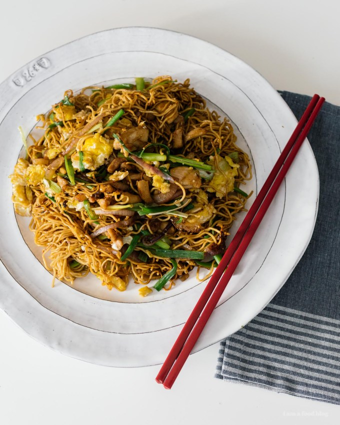 15 Minute Easy Chicken Chow Mein Recipe | www.iamafoodblog.com
