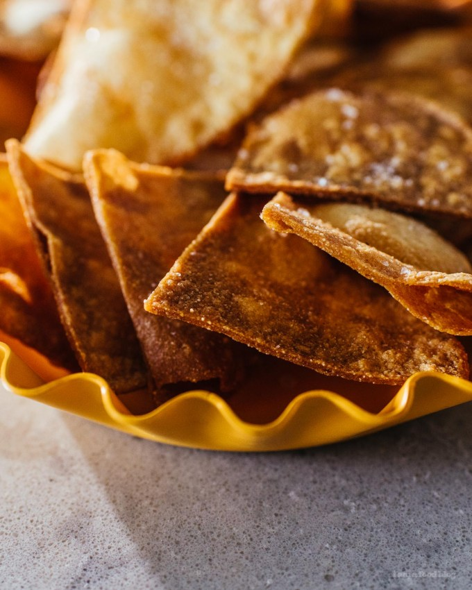 how to make homemade tortilla chips | www.iamafoodblog.com
