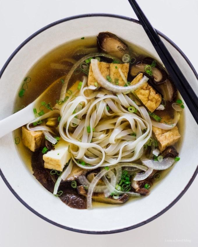 The Best Instant Pot Vegan Pho Recipe | www.iamafoodblog.com