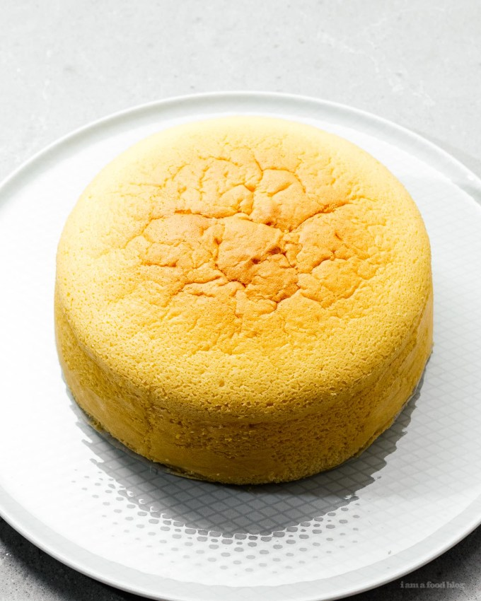 Small Batch Japanese Cheesecake Recipe | www.iamafoodblog.com